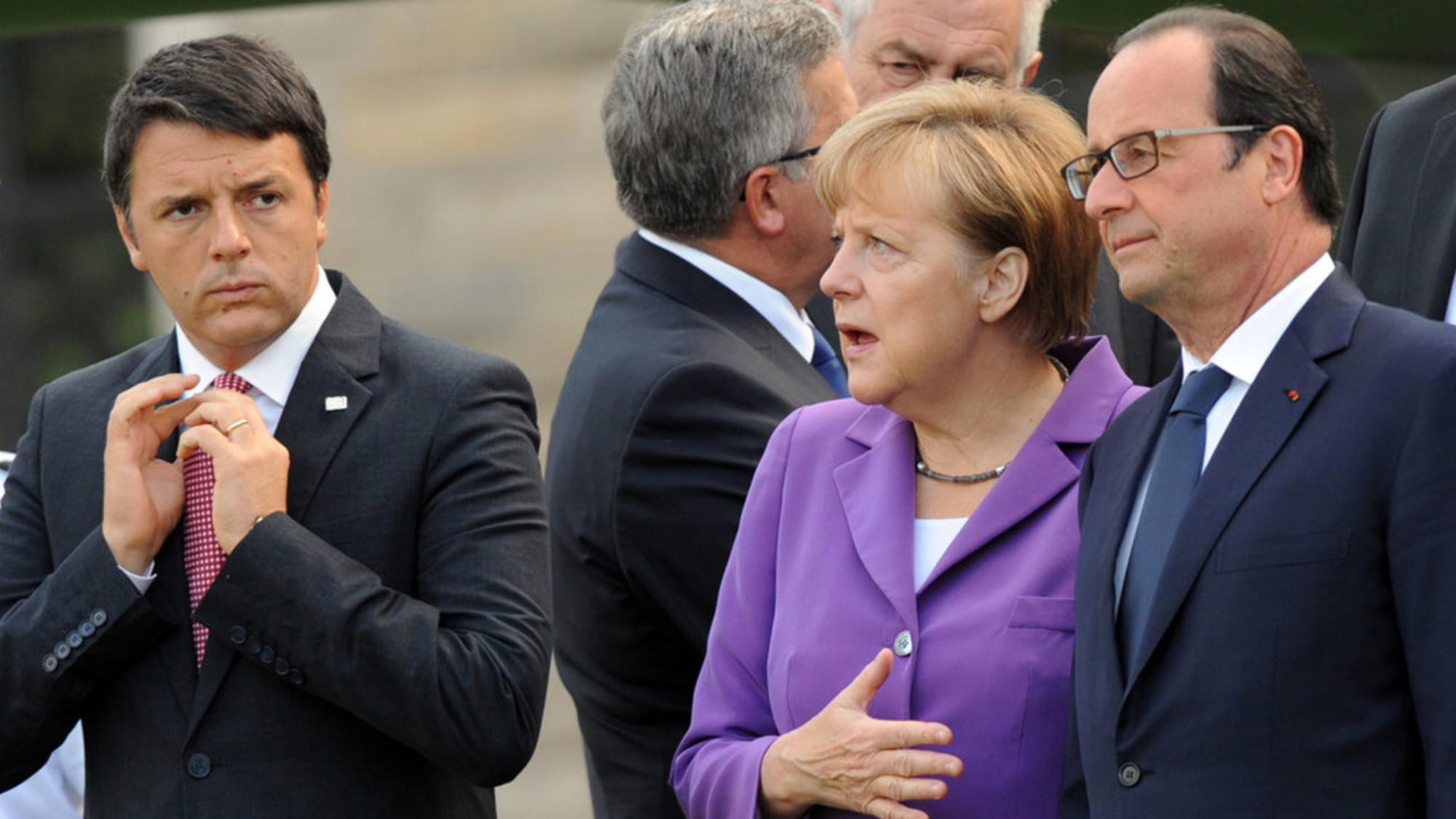 Ρέντσι: Δεν δεχόμαστε να γίνει η ΕΕ ένας χώρος διεκπεραίωσης