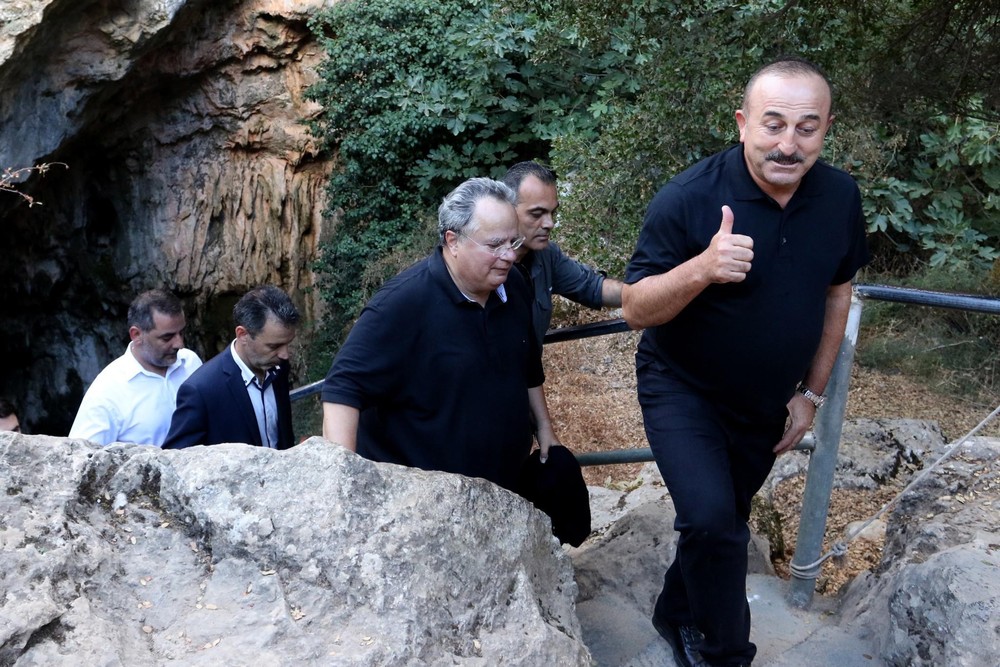 tsavousoglou-kotsiaz-1000 Τα... ελληνικά του Τσαβούσογλου και το «ευχαριστώ» για τη φιλοξενία στην Κρήτη [εικόνες]