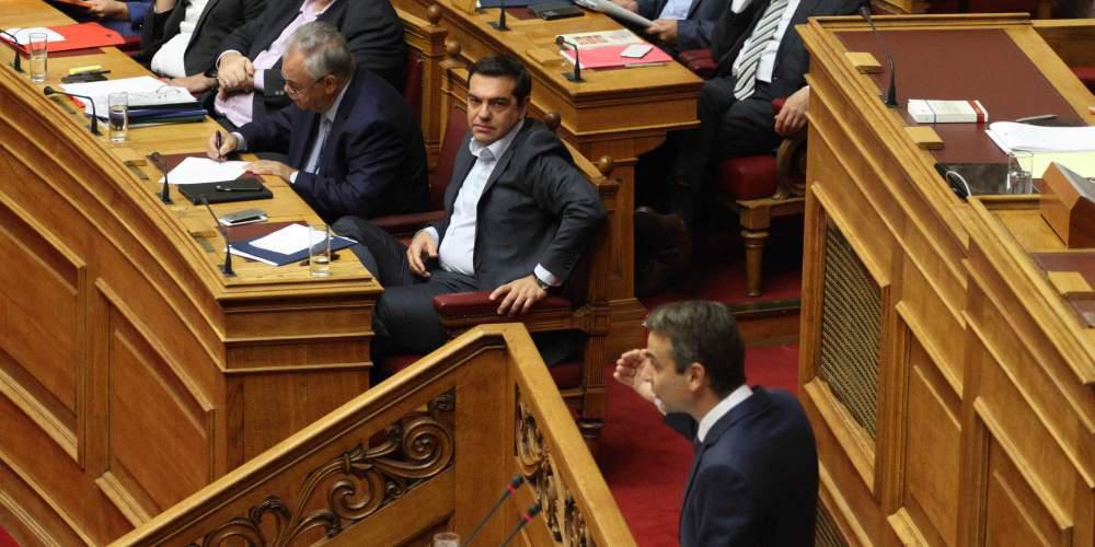 Πόλεμος ΣΥΡΙΖΑ-ΝΔ για το ντιμπέιτ που δεν θα γίνει - Ποιοι θα συμμετάσχουν σε αυτό που θα πραγματοποιηθεί
