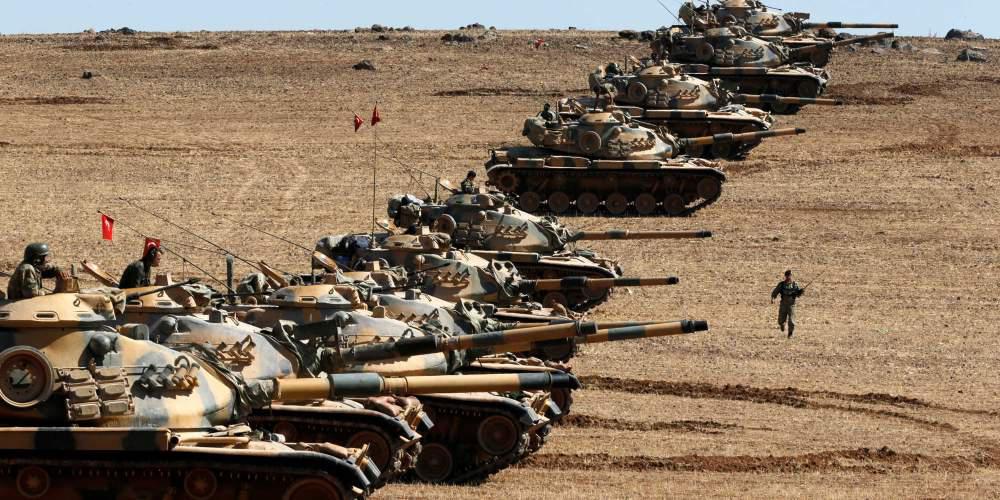 Νέο μέτωπο στη βόρεια Συρία άνοιξαν τα τουρκικά τανκ