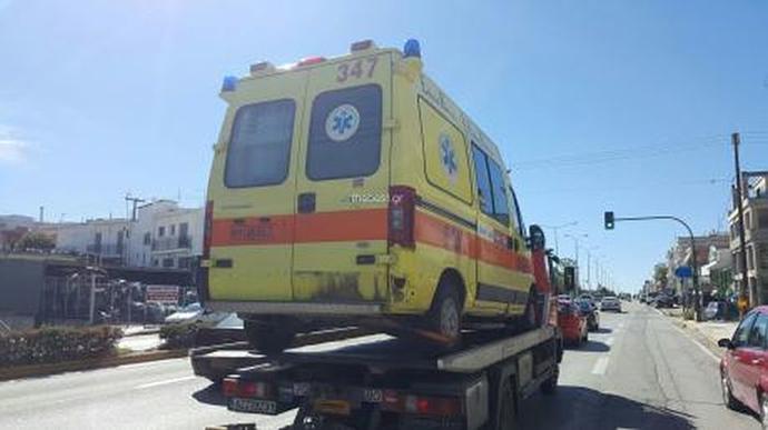 ekav-xalasmeno-1300 Τα ασθενοφόρα βλάπτουν σοβαρά την υγεία - Απίστευτες καταγγελίες από την ΠΟΕΔΗΝ