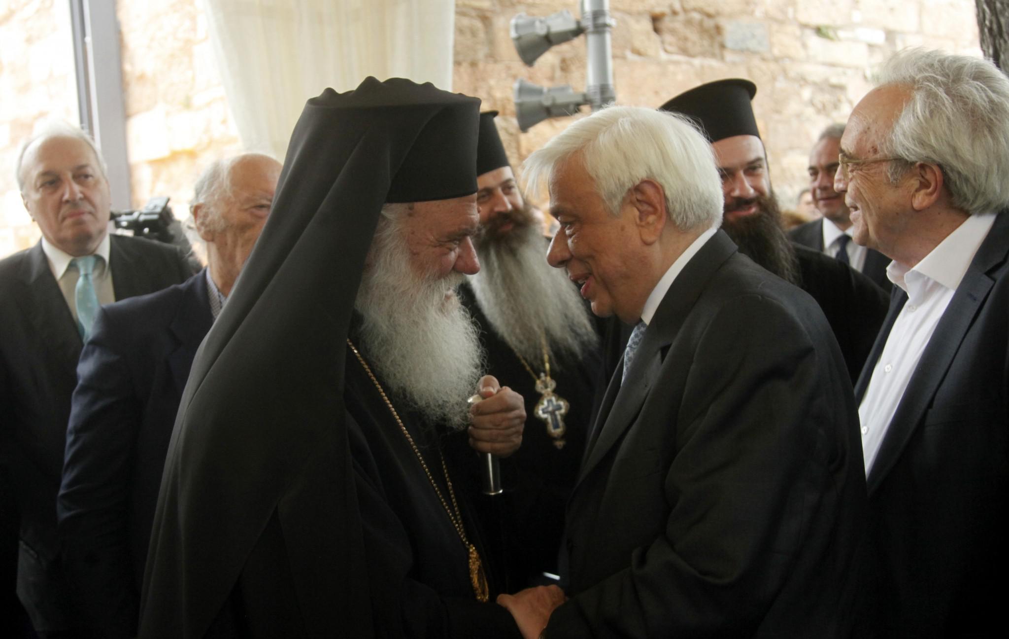 Στη Βυτίνα ο Αρχιεπίσκοπος Αθηνών και ο Πρόεδρος της Δημοκρατίας