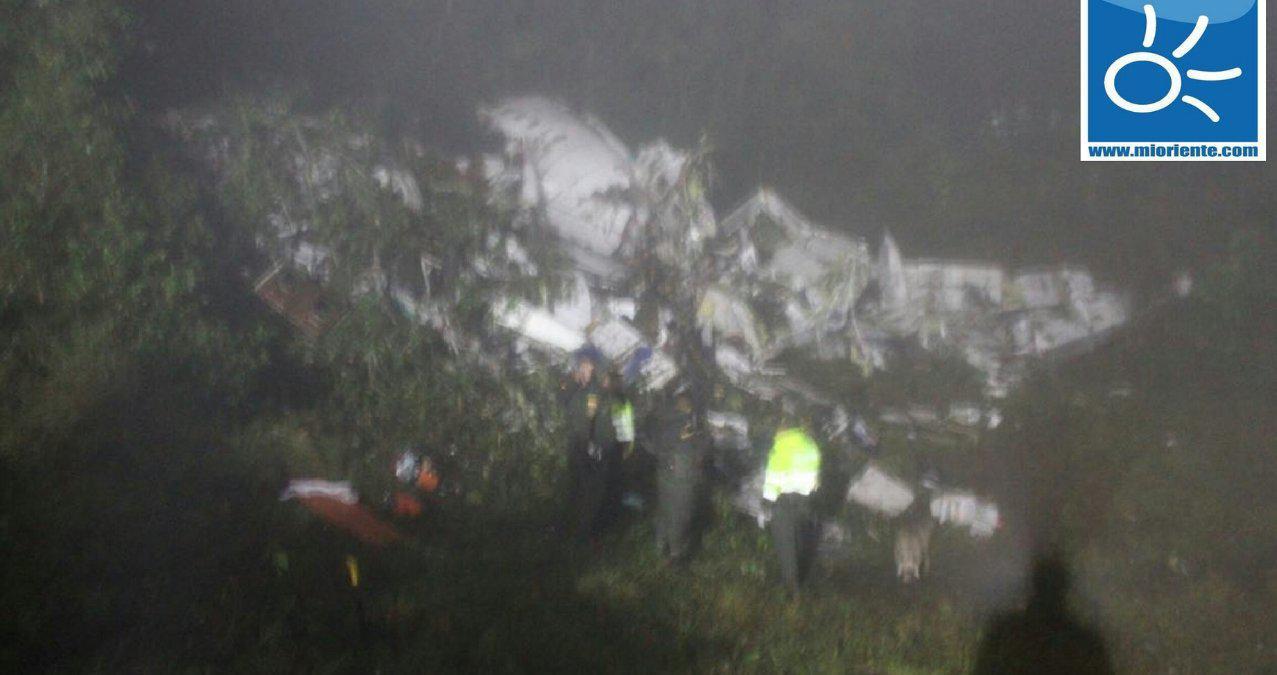 suntrivi-aeroplanou-colomvia-1300-3 Υπάρχουν επιζώντες από την συντριβή του αεροσκάφους στην Κολομβία
