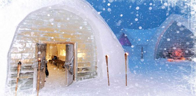 hot1-1 Αυτό είναι το πρώτο ξενοδοχείο στον κόσμο φτιαγμένο από πάγο [εικόνες & βίντεο]