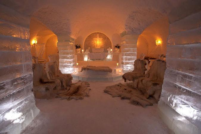 hot5-1 Αυτό είναι το πρώτο ξενοδοχείο στον κόσμο φτιαγμένο από πάγο [εικόνες & βίντεο]