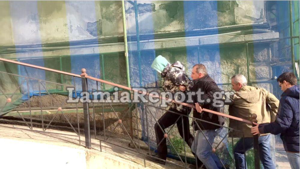DRASTIS-PAIDOPSIXOLOGOS-DOLOFONIA-2 Από την πίσω πόρτα μεταφέρθηκε στα δικαστήρια ο δολοφόνος της παιδοψυχιάτρου [εικόνες & βίντεο]