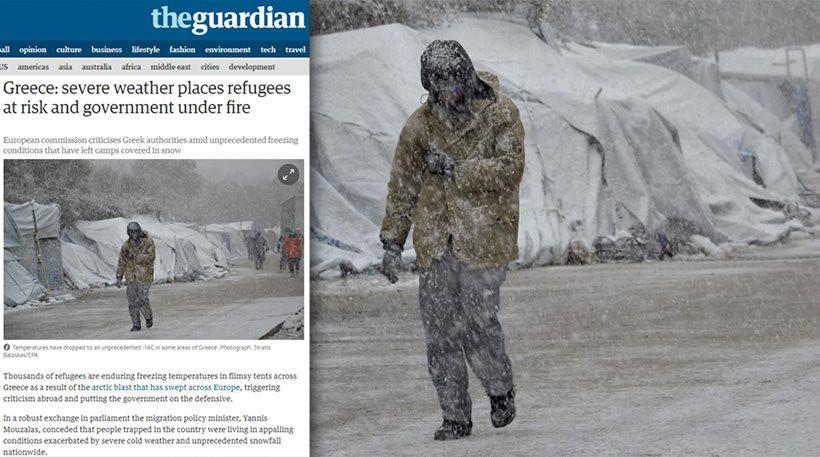 arthro-guardian-prosfiges-1300 Άρθρο - «φωτιά» της Guardian: Η Ελληνική κυβέρνηση διακινδυνεύει τις ζωές των προσφύγων