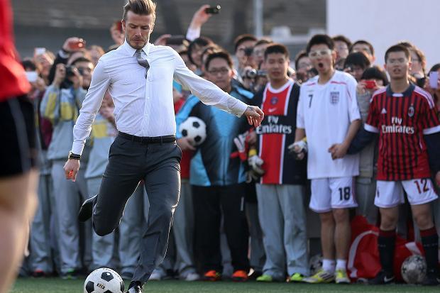 beckham2_1695296a Φάκελος «Κινεζοποίηση» του ποδοσφαίρου - Πώς ξεκίνησε και τι εξυπηρετεί