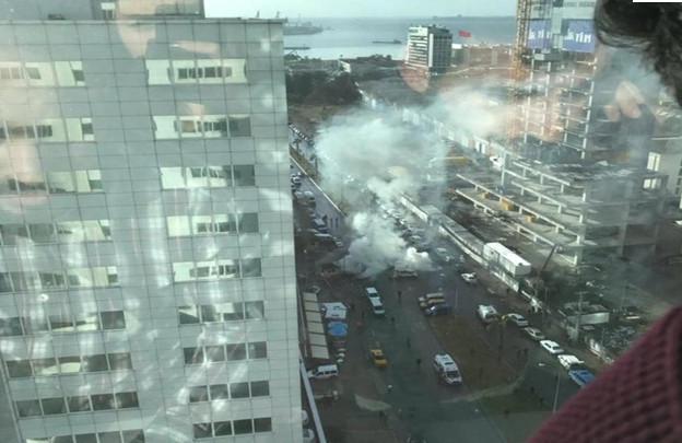 ekrixi-500 Ισχυρή έκρηξη στη Σμύρνη - Δύο νεκροί και 10 τραυματίες [εικόνες & βίντεο]