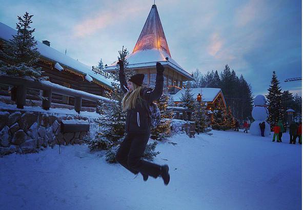kalimoukou-1300 Στο χωριό του Άι Βασίλη στην Φινλανδία η Αντωνία Καλλιμούκου [εικόνες & βίντεο]