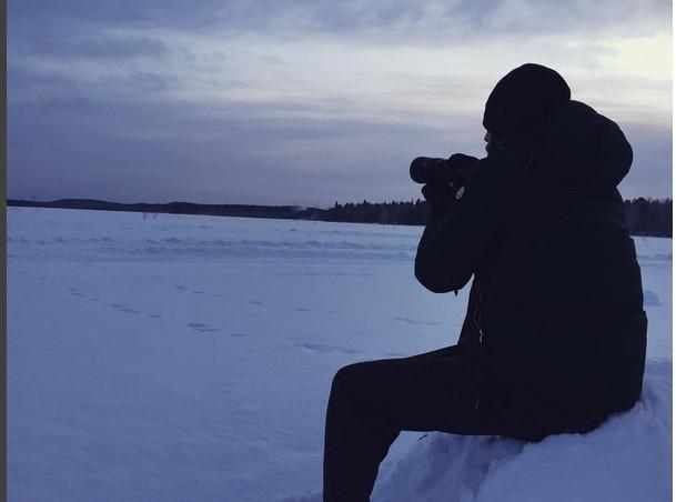 kamiloukou-1300 Στο χωριό του Άι Βασίλη στην Φινλανδία η Αντωνία Καλλιμούκου [εικόνες & βίντεο]