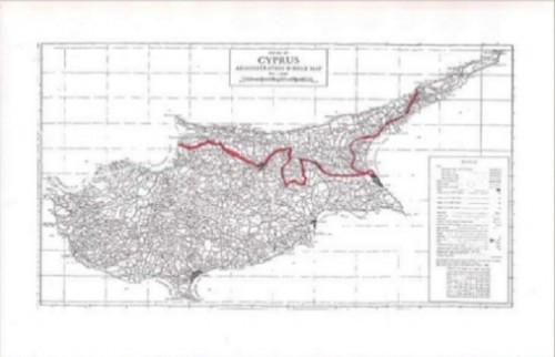 kipros Η ιστορία του εδαφικού και των χαρτών στο Κυπριακό από το 1974 έως το 2001