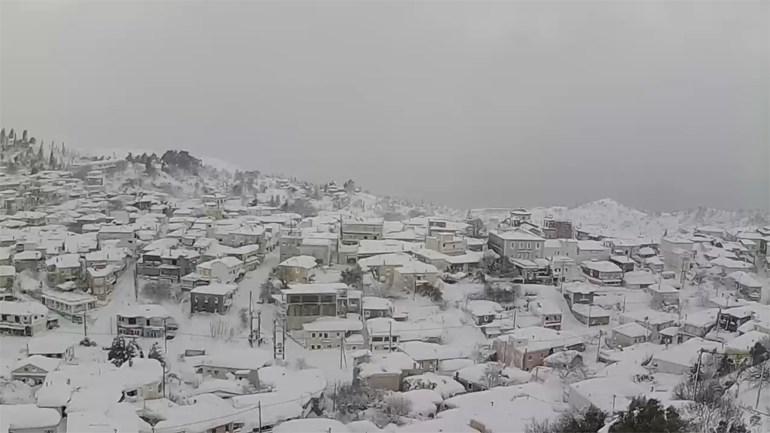 kumi-1 Τραγική κατάσταση στην Αλόννησο  – Πολλά προβλήματα σε όλη την Ελλάδα από τον χιονιά