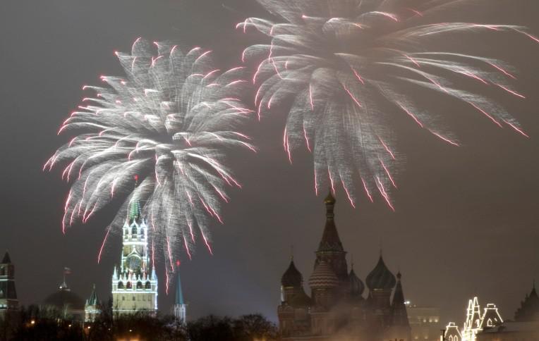 moscow Έτσι υποδέχτηκε ο πλανήτης το 2017 [εικόνες]