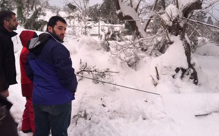 mpakogiannis-kumi-1300-1 Μπακογιάννης: Είχαμε πραγματικά μια βόμβα χιονιού [εικόνες]