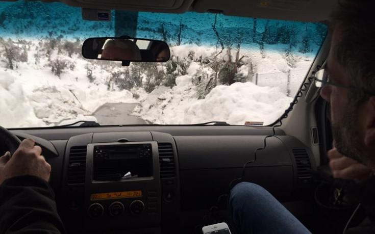 mpakogiannis-kumi-1300-4 Μπακογιάννης: Είχαμε πραγματικά μια βόμβα χιονιού [εικόνες]