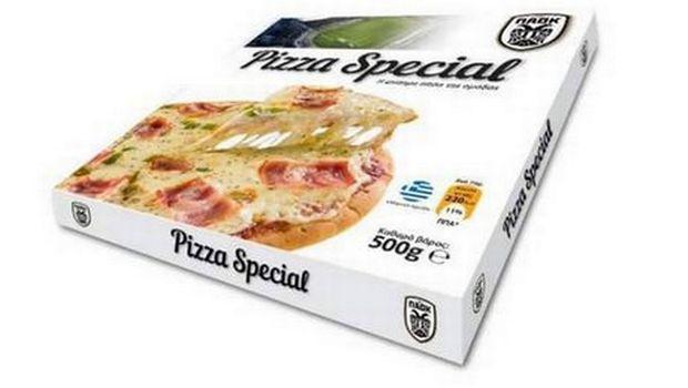 pitsa-paok-1300 Είσαι οπαδός του ΠΑΟΚ; Φάε την επίσημη… πίτσα της ΠΑΕ με σήμα το δικέφαλο [εικόνα]