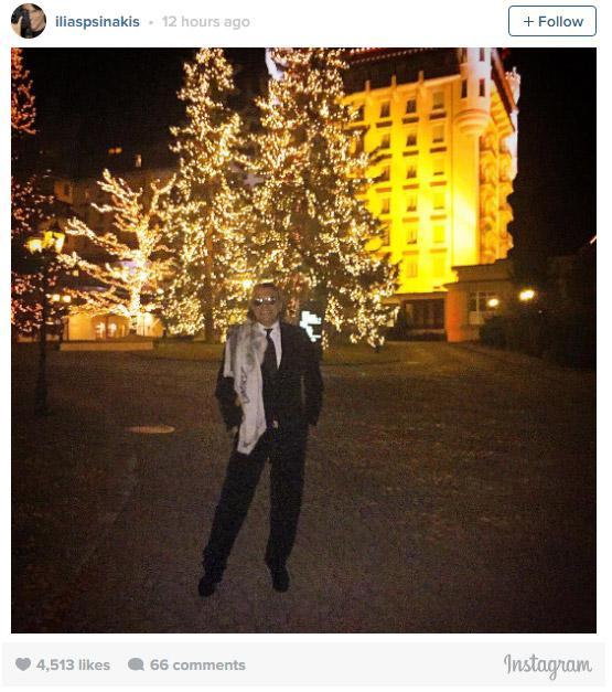 psinakis9 Η πρωτοχρονιά του Ψινάκη στο Γκστάαντ με Βαλεντίνο και  Μαντόνα [εικόνες]