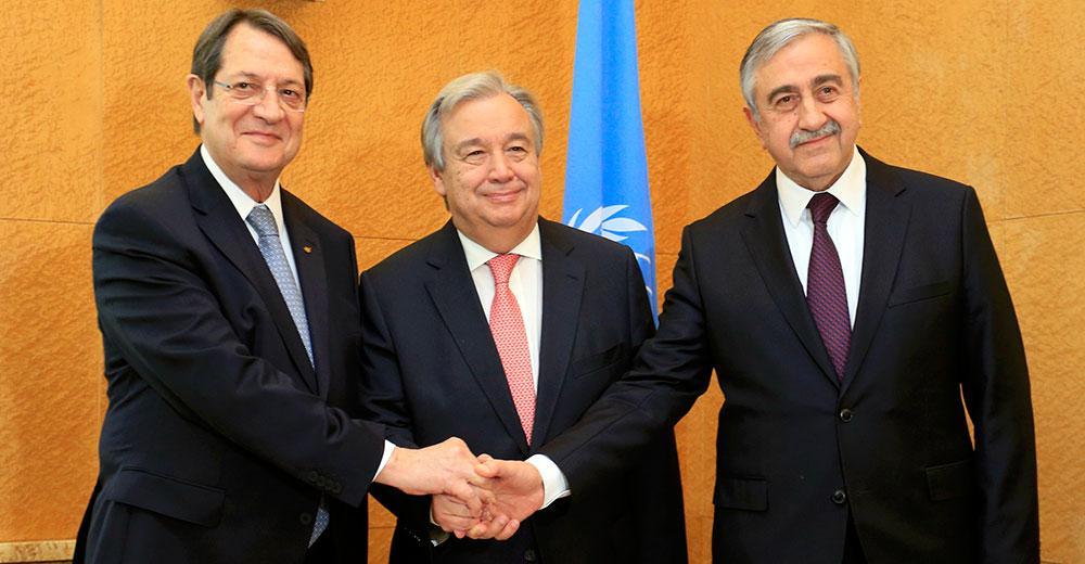 sino5 Ξεκίνησε η ιστορική διάσκεψη στην Γενεύη για το Κυπριακό