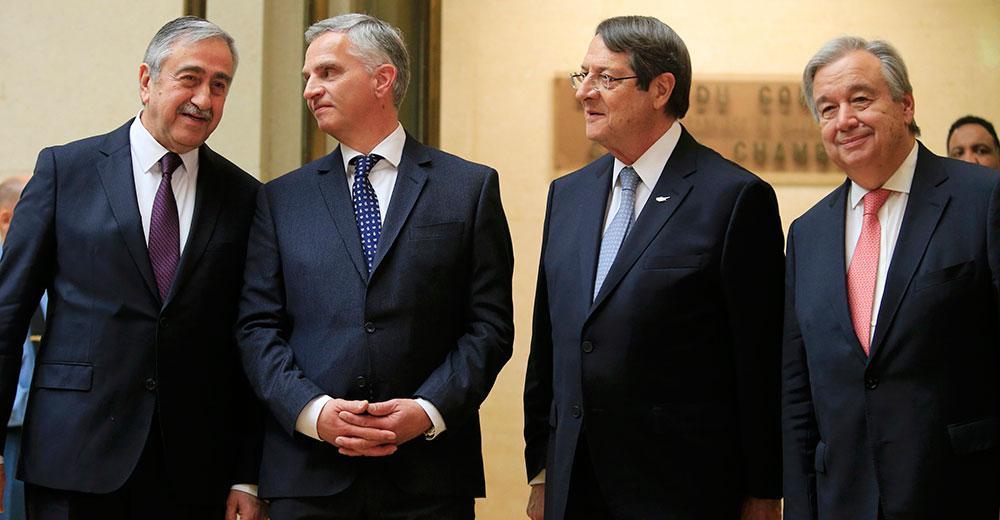 sino6 Ξεκίνησε η ιστορική διάσκεψη στην Γενεύη για το Κυπριακό