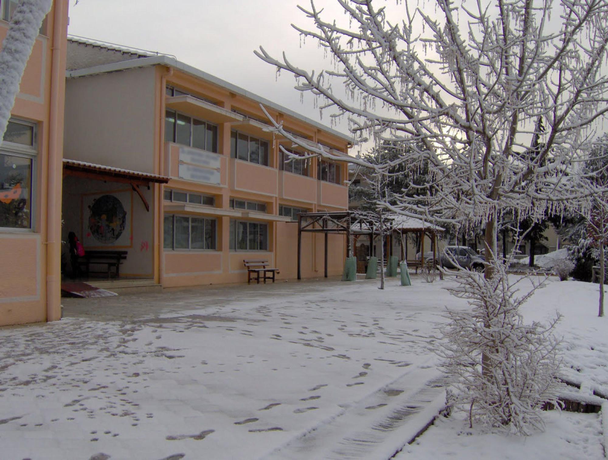 Αποτέλεσμα εικόνας για Σχολεία κλειστά χιόνια