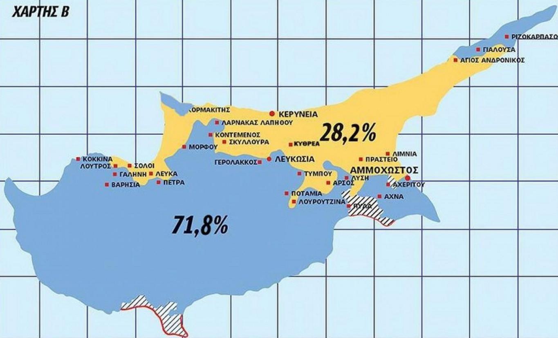 xartis-kipros Τι περιλαμβάνουν οι χάρτες που κατατέθηκαν για το Κυπριακό [εικόνα]