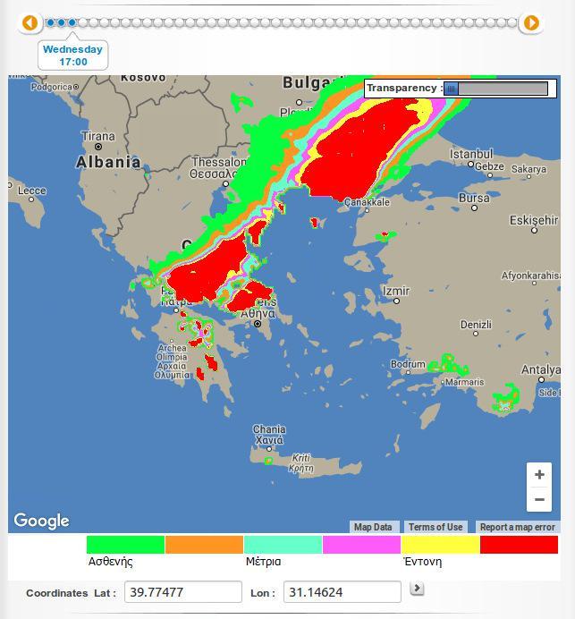 xartis4 Νέα επέλαση του χιονιά στη βόρεια Ελλάδα – Σε κατάσταση εκτάκτου ανάγκης πολλές περιοχές