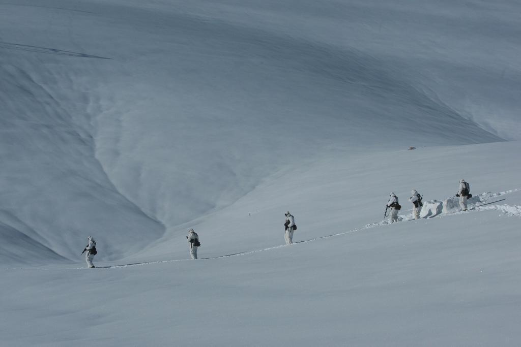 8_190 Ετσι εκπαιδεύονται οι Ελληνες καταδρομείς στα χιόνια [εικόνες]