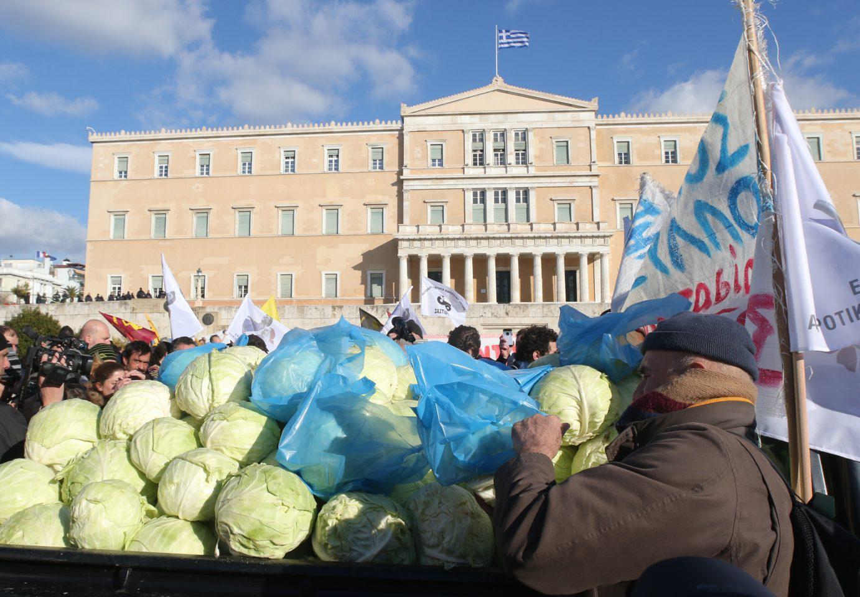 agrotes-500 Ολοκληρώθηκε το παναγροτικό συλλαλητήριο [εικόνες]