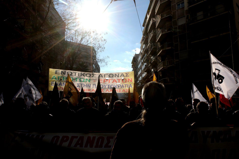agrotes17-500 Ολοκληρώθηκε το παναγροτικό συλλαλητήριο [εικόνες]