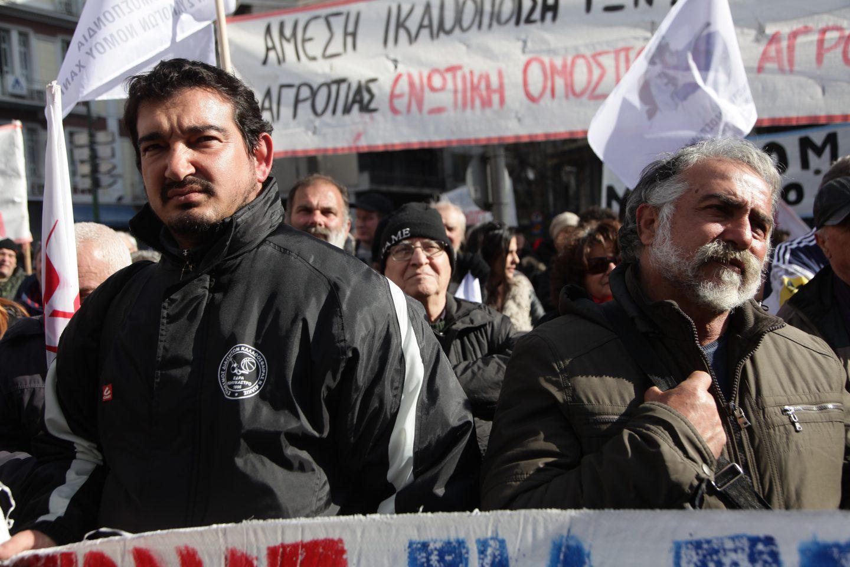 agrotes22-500 Ολοκληρώθηκε το παναγροτικό συλλαλητήριο [εικόνες]