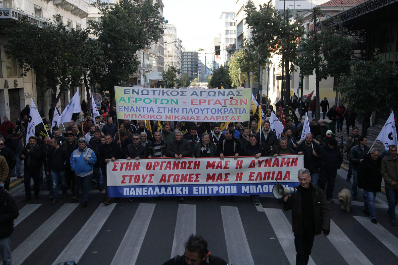 agrotes24-500 Ολοκληρώθηκε το παναγροτικό συλλαλητήριο [εικόνες]
