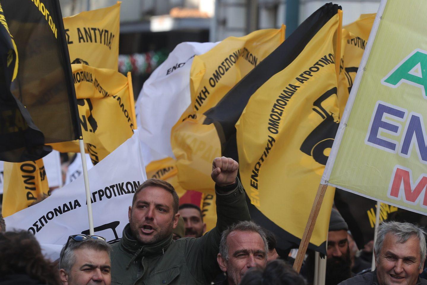 agrotes6-500 Ολοκληρώθηκε το παναγροτικό συλλαλητήριο [εικόνες]