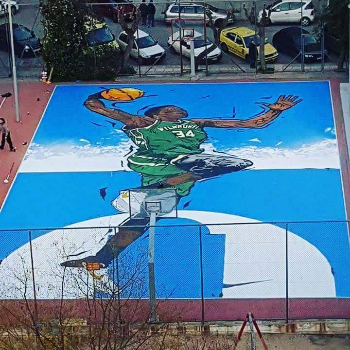 graffiti-giannis3 Το εκπληκτικό γκράφιτι του Αντετοκούνμπο στα Σεπόλια [εικόνες]