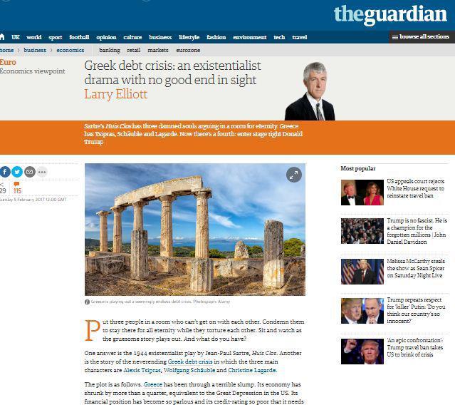 guardian-greece-dyo Guardian: Το δράμα της Ελλάδας και οι «καταραμένες ψυχές»