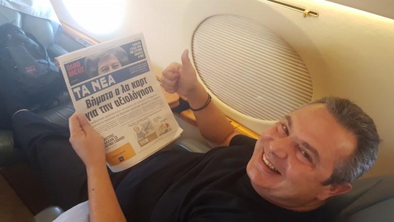 kammenos-airport-nea01 Έχω και πρωθυπουργικό αεροπλάνο, πάμε μια βόλτα; - Οι αμαρτωλές ιστορίες στον αέρα
