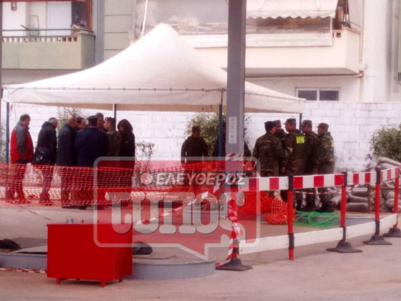 purotexnourgoi-vomva-4 Λήξη συναγερμού στο Κορδελιό - Επιστρέφουν οι κάτοικοι