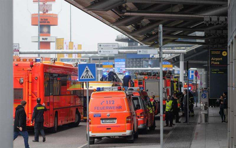 terror1 Εκκενώθηκε το αεροδρόμιο του Αμβούργου: Εντοπίστηκε άγνωστη ουσία