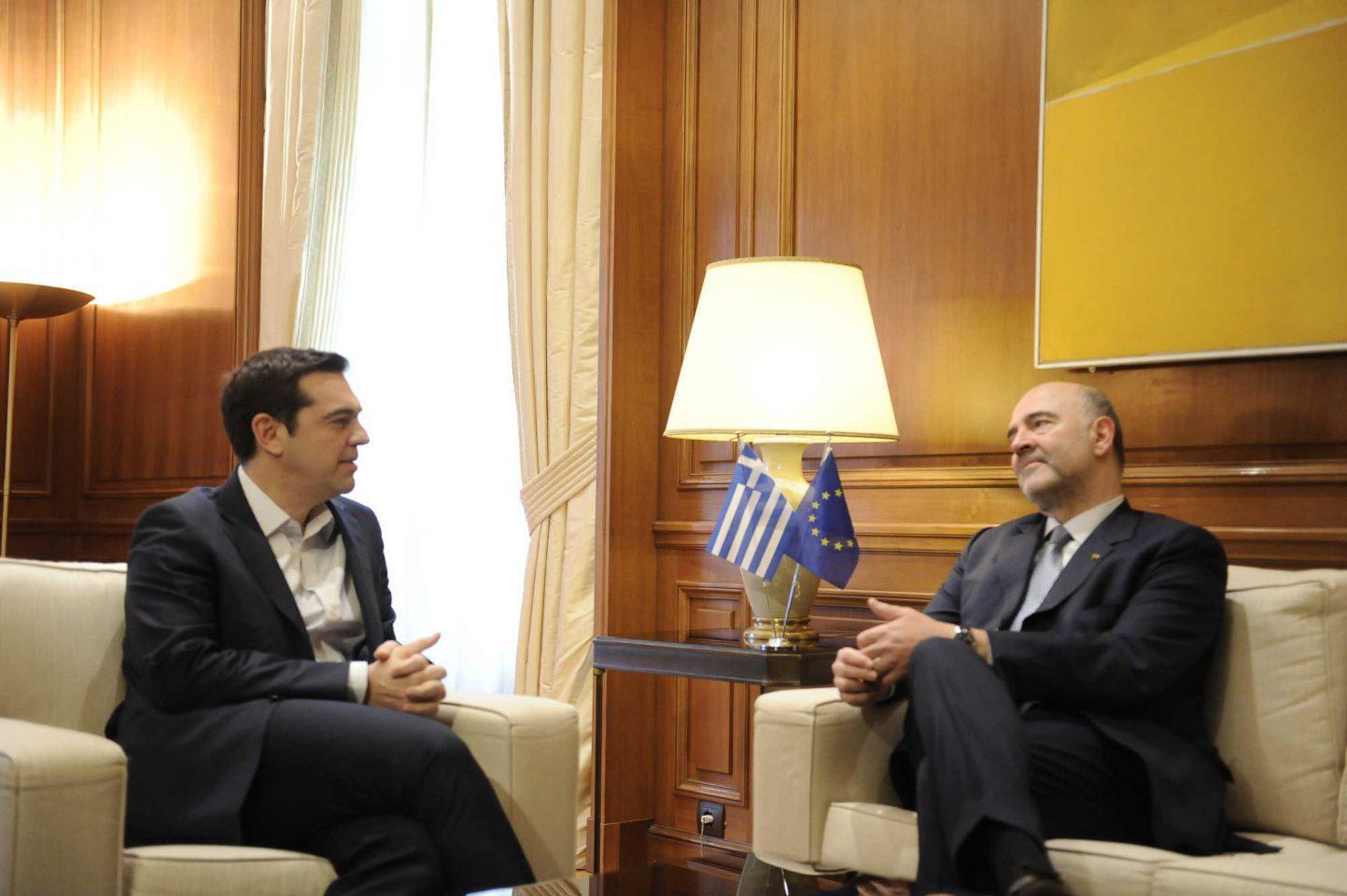 tsipras-moskovici-maximou-synantisi-1300 Τσίπρας σε Μοσκοβισί: Το μήνυμα είναι «φτάνει πια η λιτότητα στην Ελλάδα»