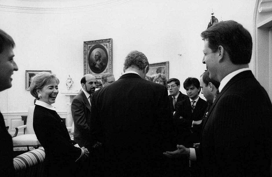 xilari-bill6-500 Αυτές είναι οι 15 άγνωστες φωτογραφίες της Χίλαρι Κλίντον ως Πρώτη Κυρία