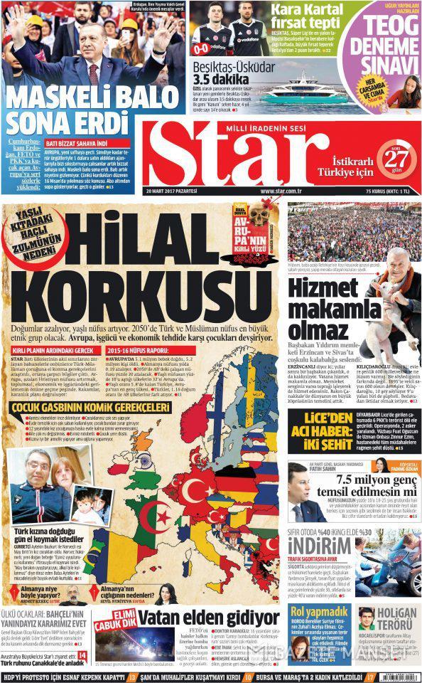 15512f03-0313-46e6-93b7-9d0f7d0b8464 Επίθεση στην Ευρώπη εξαπέλυσε σήμερα ο τουρκικός Τύπος