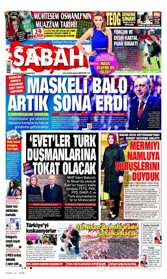 c7b5c360-afc0-4ad1-ab5c-9646985f6b31 Επίθεση στην Ευρώπη εξαπέλυσε σήμερα ο τουρκικός Τύπος