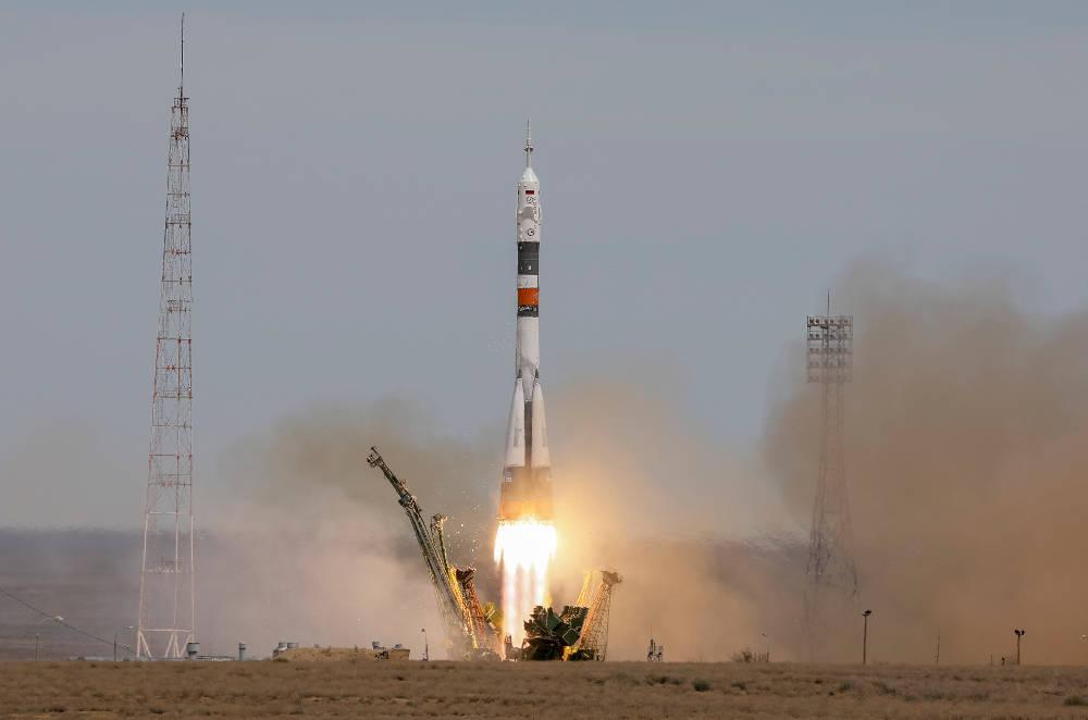 diastimoploio-1300 Για πέμπτη φορά στο διάστημα ο Ρωσοπόντιος κοσμοναύτης Γιουρτσίχιν