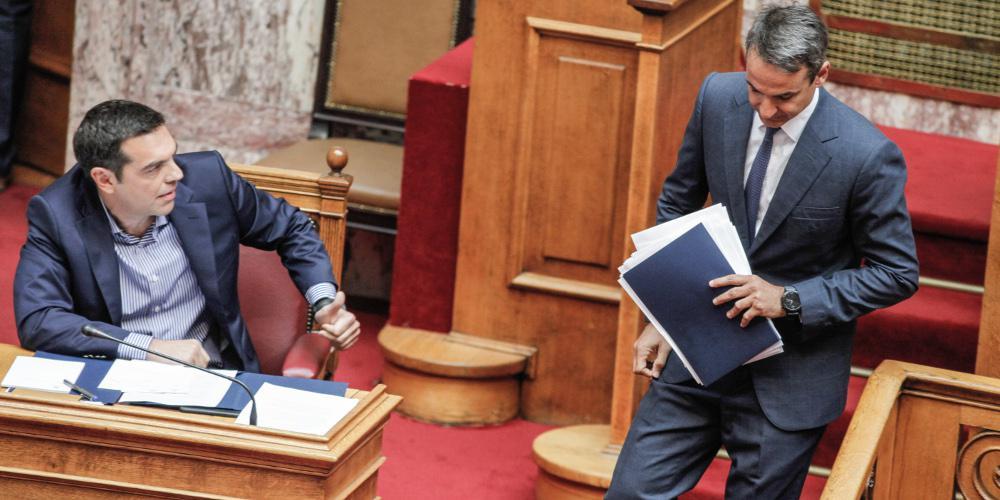Live η σύγκρουση κυβέρνησης-αξιωματικής αντιπολίτευσης για τον προϋπολογισμό 2018