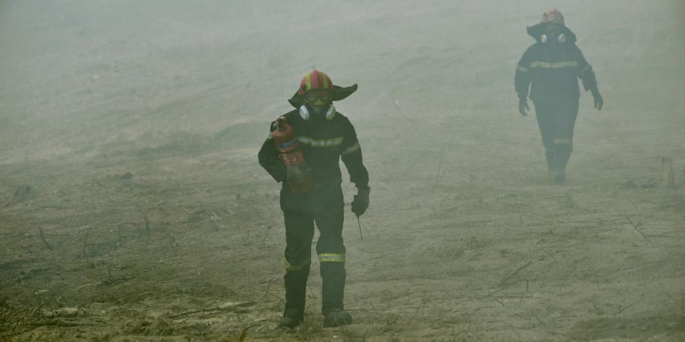 Συνελήφθησαν δύο ύποπτοι για εμπρησμό στις πυρκαγιές σε Ηλείας και Μεσσηνία