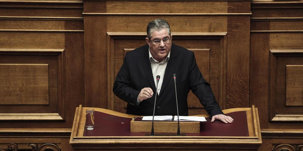 Κουτσούμπας στην Βουλή για ψήφο εμπιστοσύνης: Η σημερινή διαδικασία είναι αποτέλεσμα παζαριών