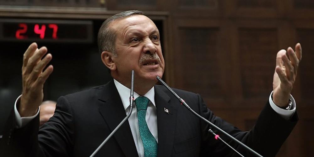 Όλες οι απειλές του Ερντογάν - Συγκρίνει το Αιγαίο με τις σφαγές στο Αφρίν!