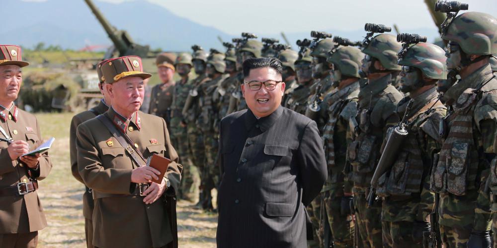 Κιμ Γιονγκ Ουν: «Πράξη πολέμου» ο αποκλεισμός των λιμανιών μας από τις ΗΠΑ