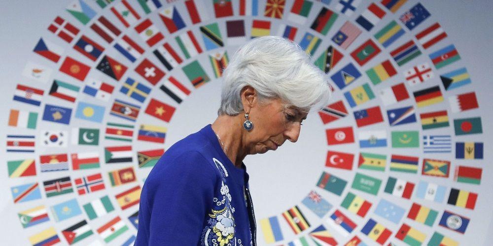 Λαγκάρντ: Αυτοί είναι οι δύο βασικοί κίνδυνοι για την παγκόσμια οικονομία