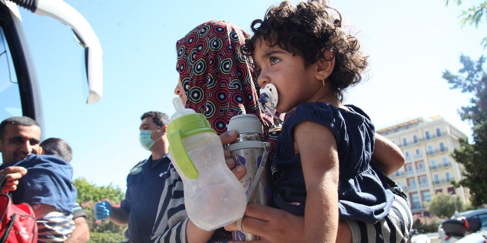 Deutsche Welle: Μέλη του ISIS στο hot spot της Μαλακάσας - Φοβούνται οι Γιεζίντι